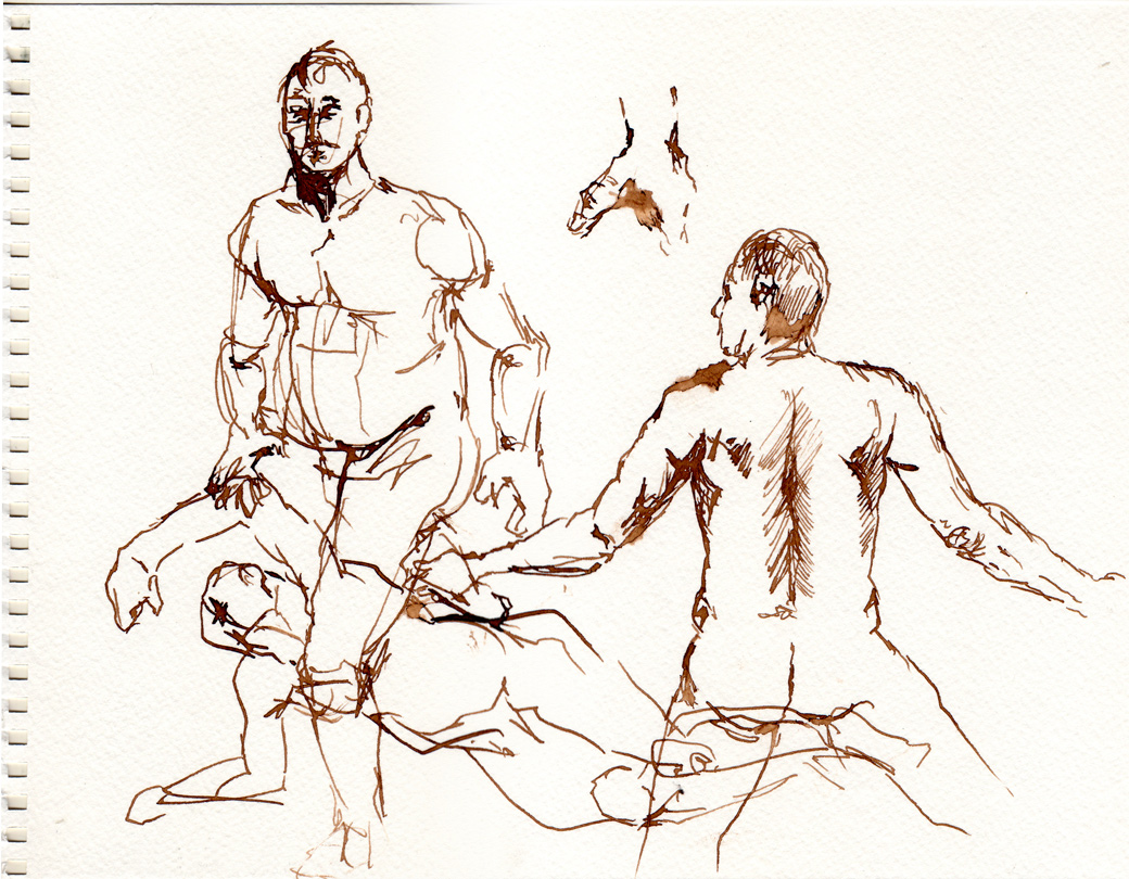 Life Drawing Page Two (2009)