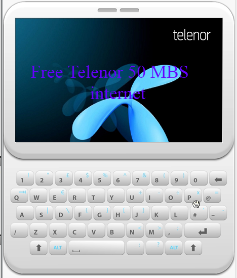 free telenor internet