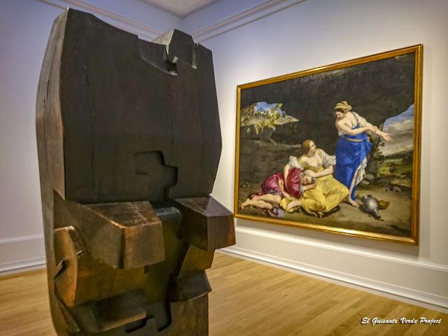 Mari, Néstor Basterretxea y Lot y sus Hijas, Orazio Gentileschi - Museo Bilbao por EGVP