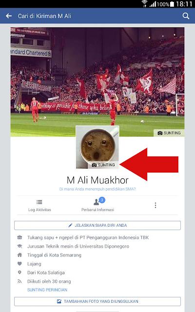 Blogger Indonesia Cara Mengganti Foto Profil Facebook Dengan Gambar
