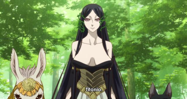 Mahoutsukai no Yome Titania Ancient Magu's Bride anime