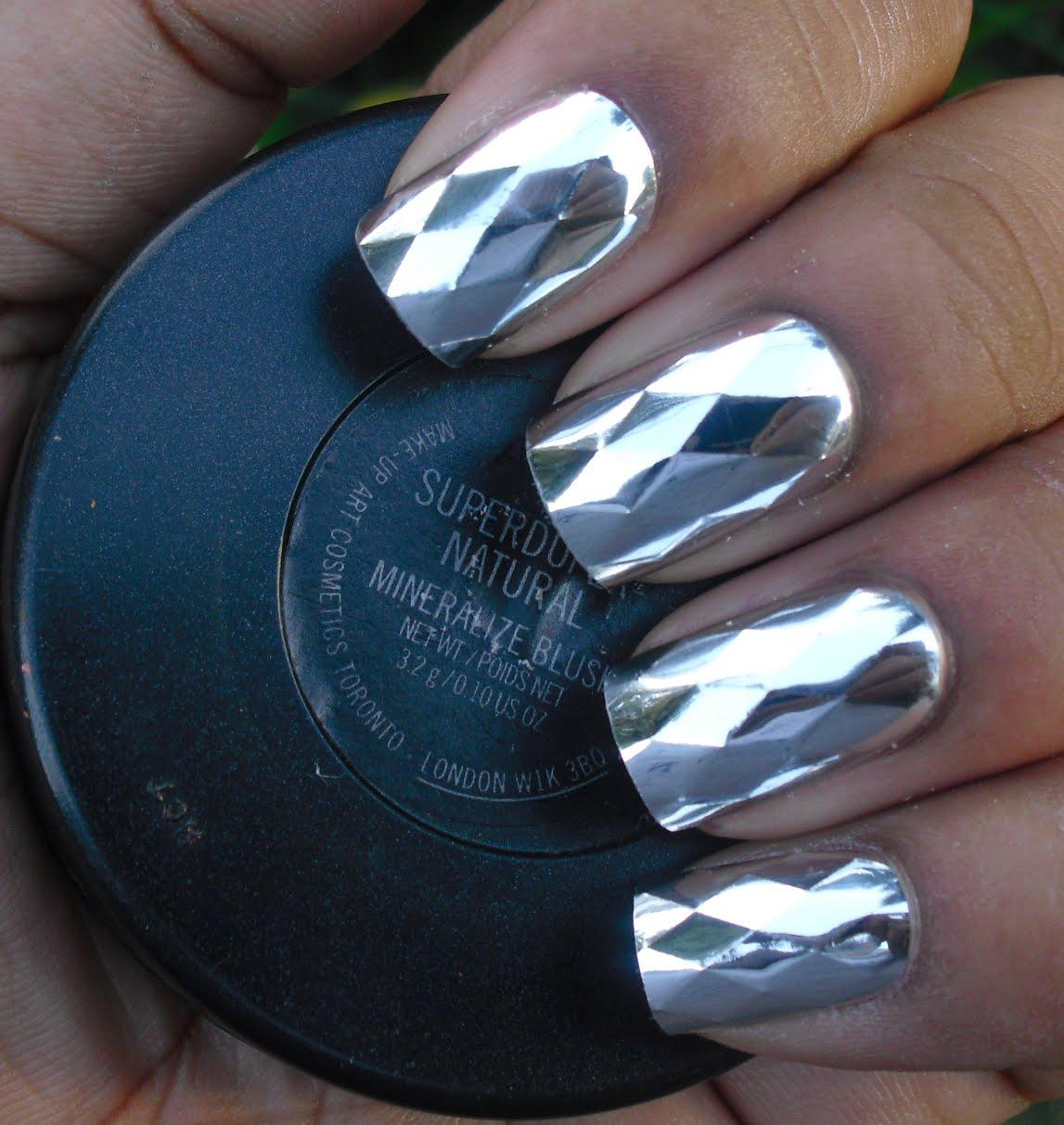 Addicted To Polish Nail Bliss Metallic Nails