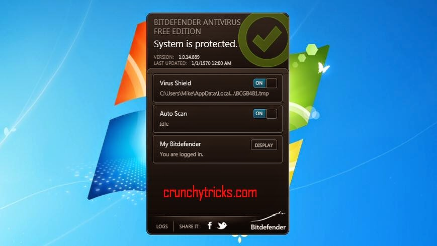 Bitdefender Antivirus Free Addition