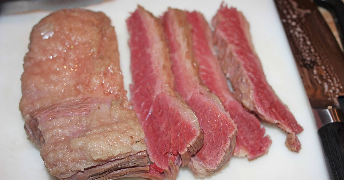 The Grub Files: Cooking with Camissonia: Home-Cured Corned Beef