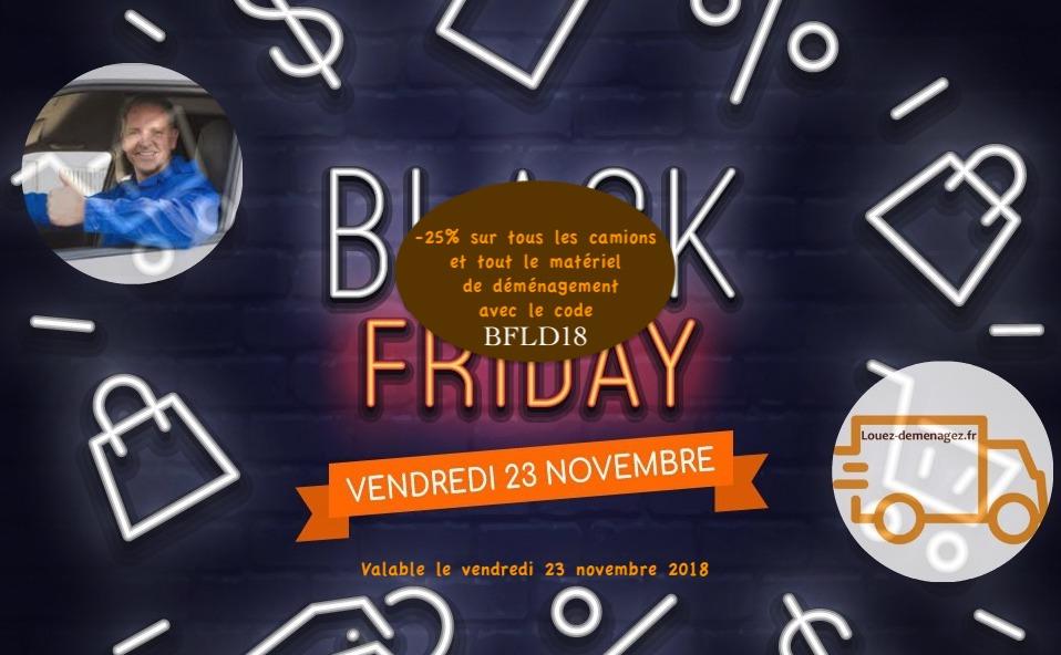 black friday promotion demenagement