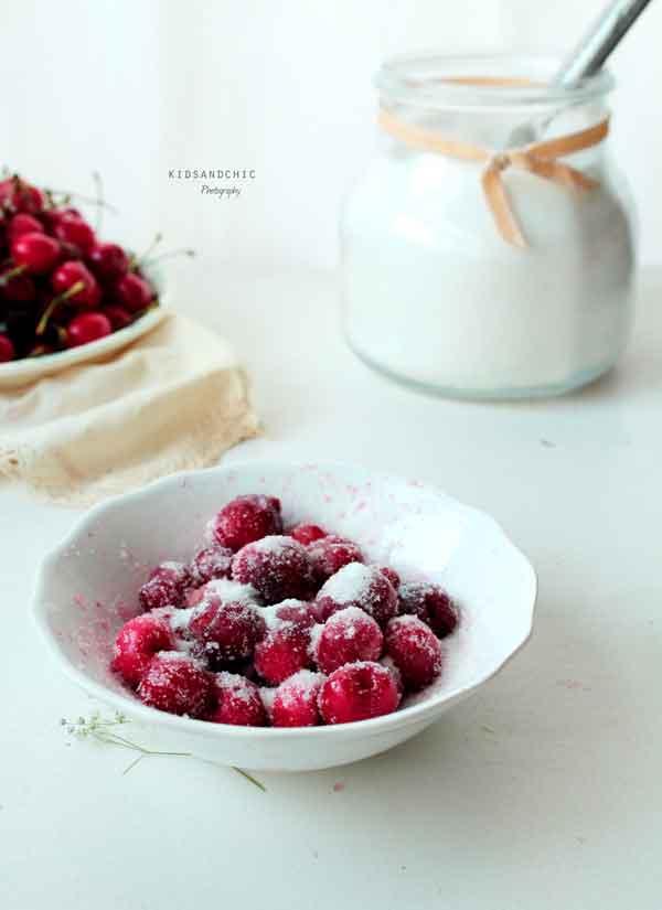 magdalenas de avena y cerezas -kidsandchic