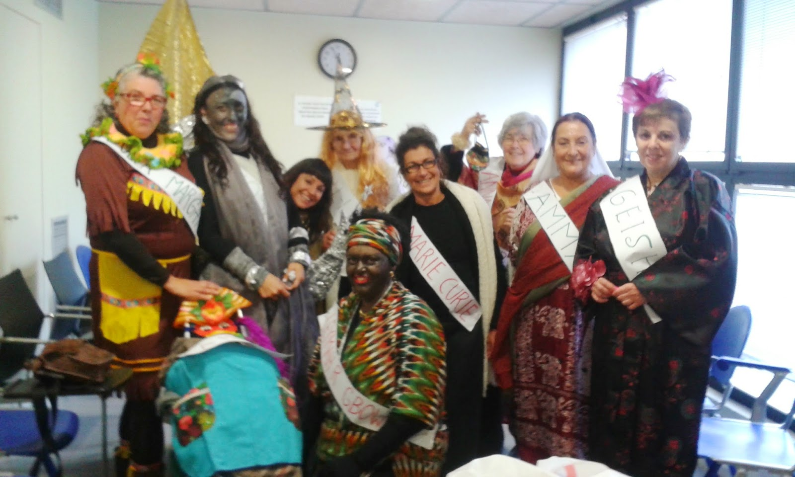 Crnaval 2016 DONAT es una sección dedicada a las mujeres de deixalatevaempremta.org
