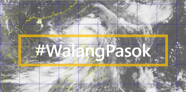 #WalangPasok: Class suspensions for Monday, August 1, 2016 due to 'Carina'