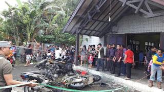 Terduga Pelaku Peledakan Bom Molotov Di Samarinda, Berasal dari Jawa Barat - Commando