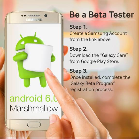 Samsung Requesting Galaxy S6 and S6 Edge Marshmallow Beta Testers in UK and South Korea