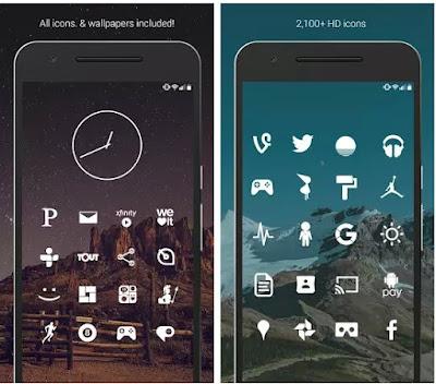 Minimalist Icon Packs For Android - Komputek