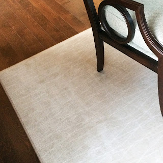 Kermans custom area rug