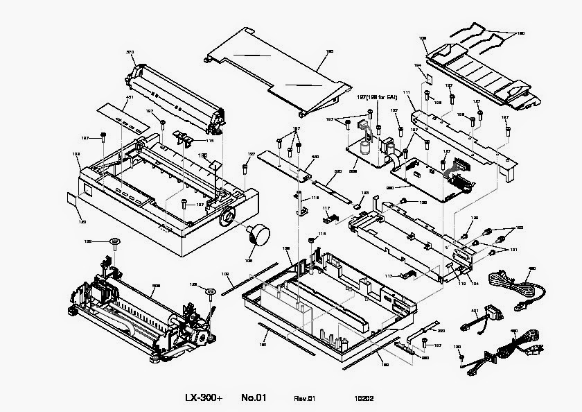 Tecnologías de la información : Desensamble de impresora