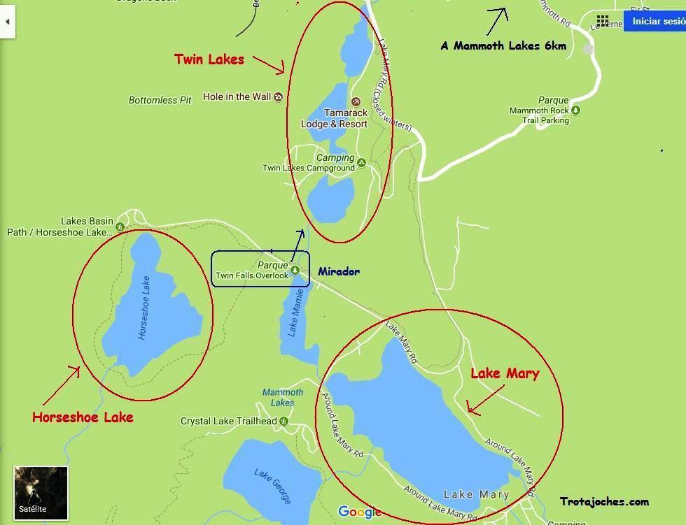 De Yosemite a Mammoth Lakes, el pueblo de los lagos en el oeste de ...