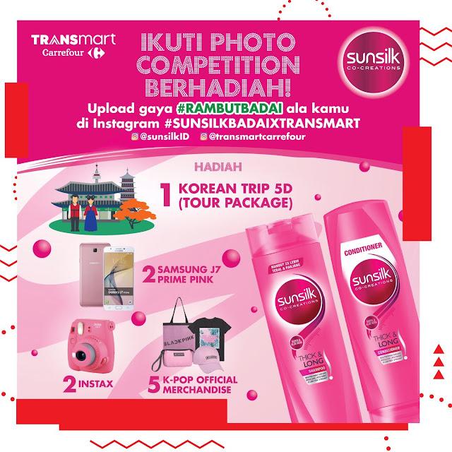 #Transmart - #Promo Photo Competition RAMBUTBADAI Bersama SUNSILK (s.d 31 Maret 2019)