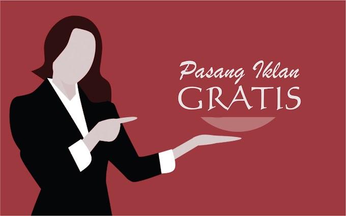 Pasang Iklan Gratis hanya di Egaliter.com