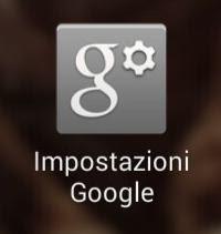 guida alle impostazioni google