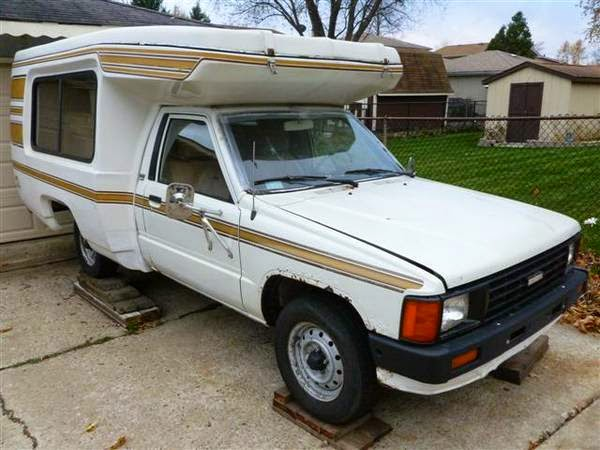22re Engine For Sale >> Used RVs 1986 Toyota Bandit RV Camper For Sale by Owner