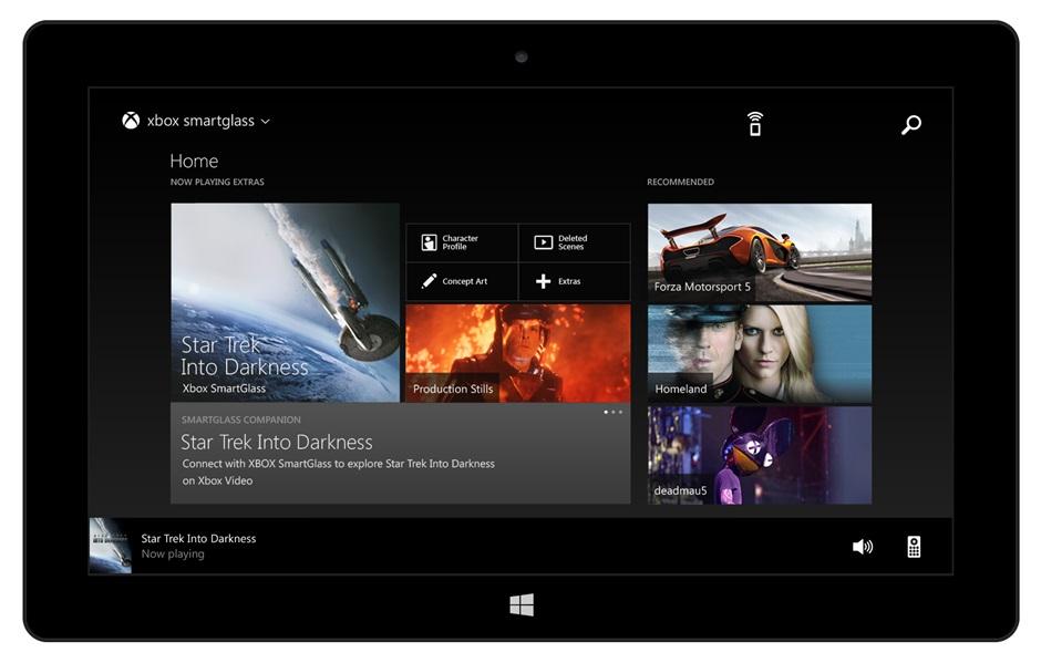 Xbox E SmartGlass