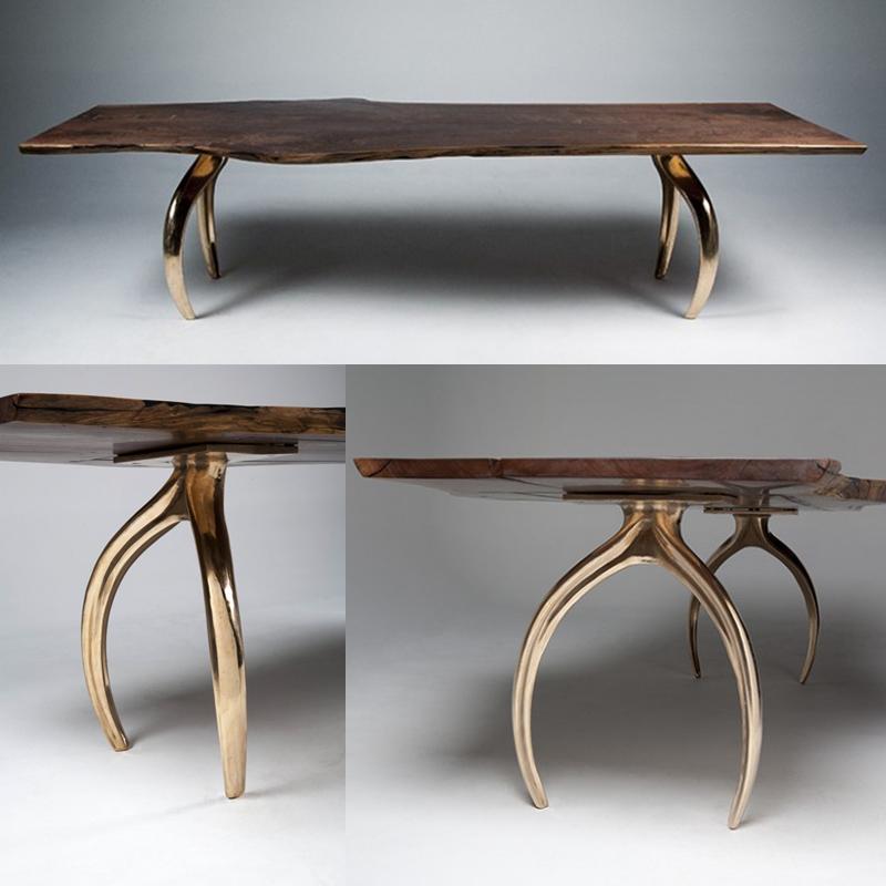 stacklab wishbone leg table