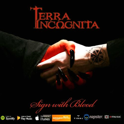 Terra IncΩgnita - Sign with blood