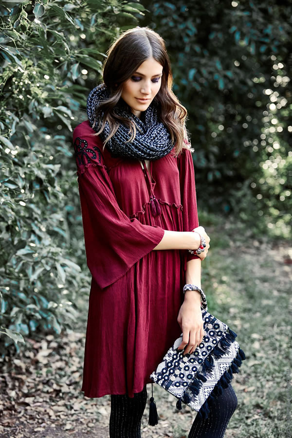 Vestidos invierno 2017 ropa de mujer moda. Moda mujer invierno 2017.