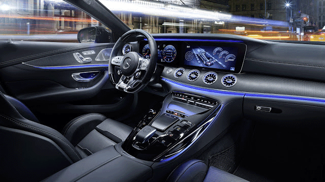Mercedes AMG GT 4-Door Coupe Interior