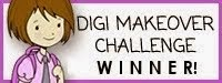 I won the Digi Makeover Challenge