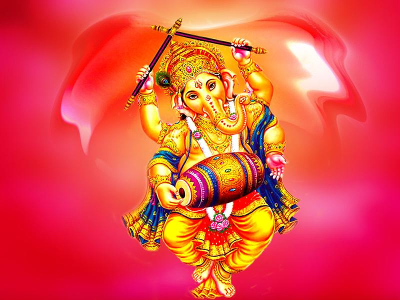 Panchmukhi Ganesh Wallpaper Hd Dancing Ganesha God Wallpapers Wallpapers