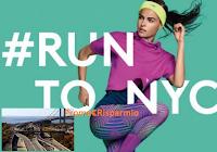 Logo Diadora ''Run to NYC'': 20 donne vinceranno gratis la Maratona di New York