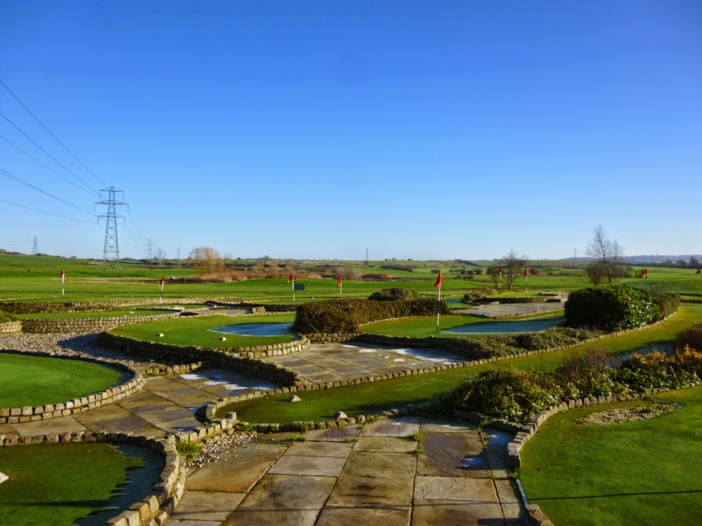 Miniature Golf at Dunton Hills Family Golf Centre in West Horndon, Essex