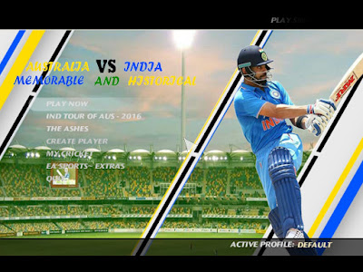 Australia VS India Series 2016 Historical Patch For Cricket 07