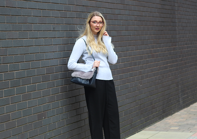 work wear fashion blogger
