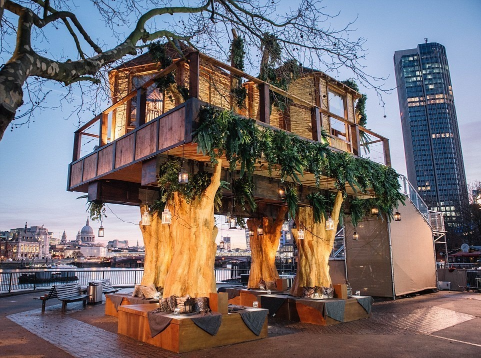 Insane Tree Houses south african themed tree house hotel ~ crack two