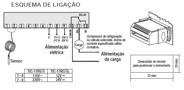 Controlador De Temperatura Autonoma Tzn4s-14r Manualmente