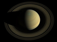 Saturn seen by Cassini spacecraft