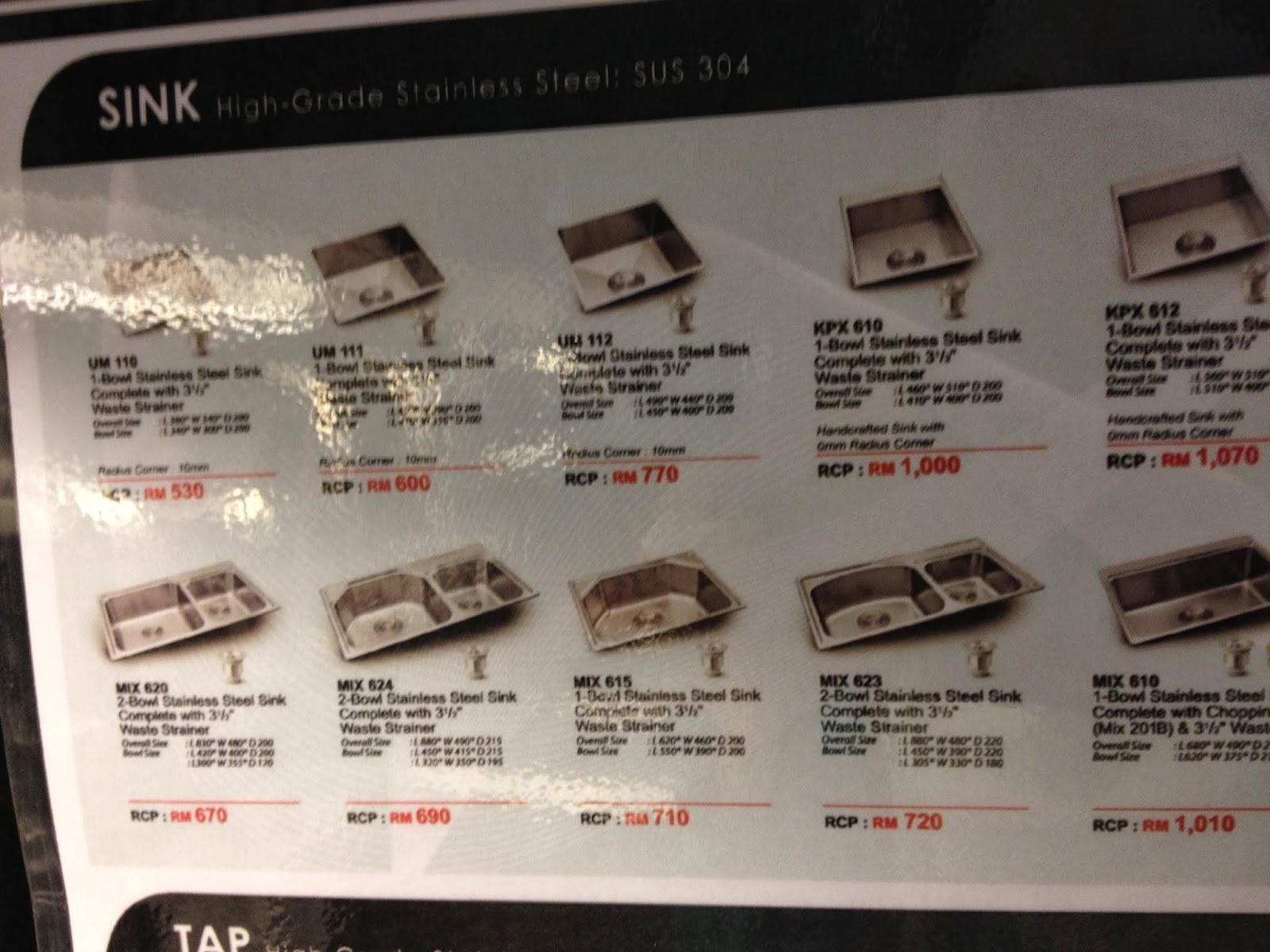 Pastu Kami Beli Tap Dapur Haustern Yang Simple Je Harga Sebenar Rm 580 Tapi Dia Offer Kat Kedai Ni Ialah 350 I E 40