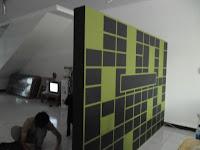 Partisi Sekat Ruangan Kantor (Office) - Custom Furniture Kantor Semarang