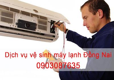 dịch vụ ve sinh may lanh dong nai