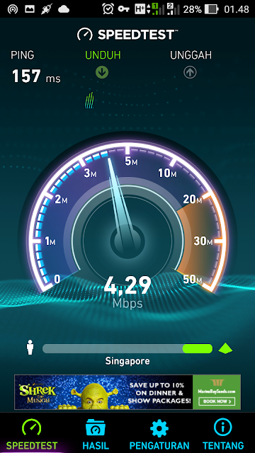 SSH Singapura terbaru full speed