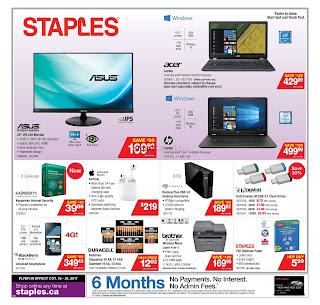 Staples Flyer Deals of the Week valid October 18 - 24, 2017