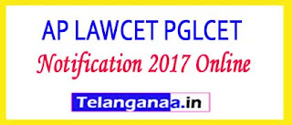 AP LAWCET PGLCET Entrance Exam Notification 2017