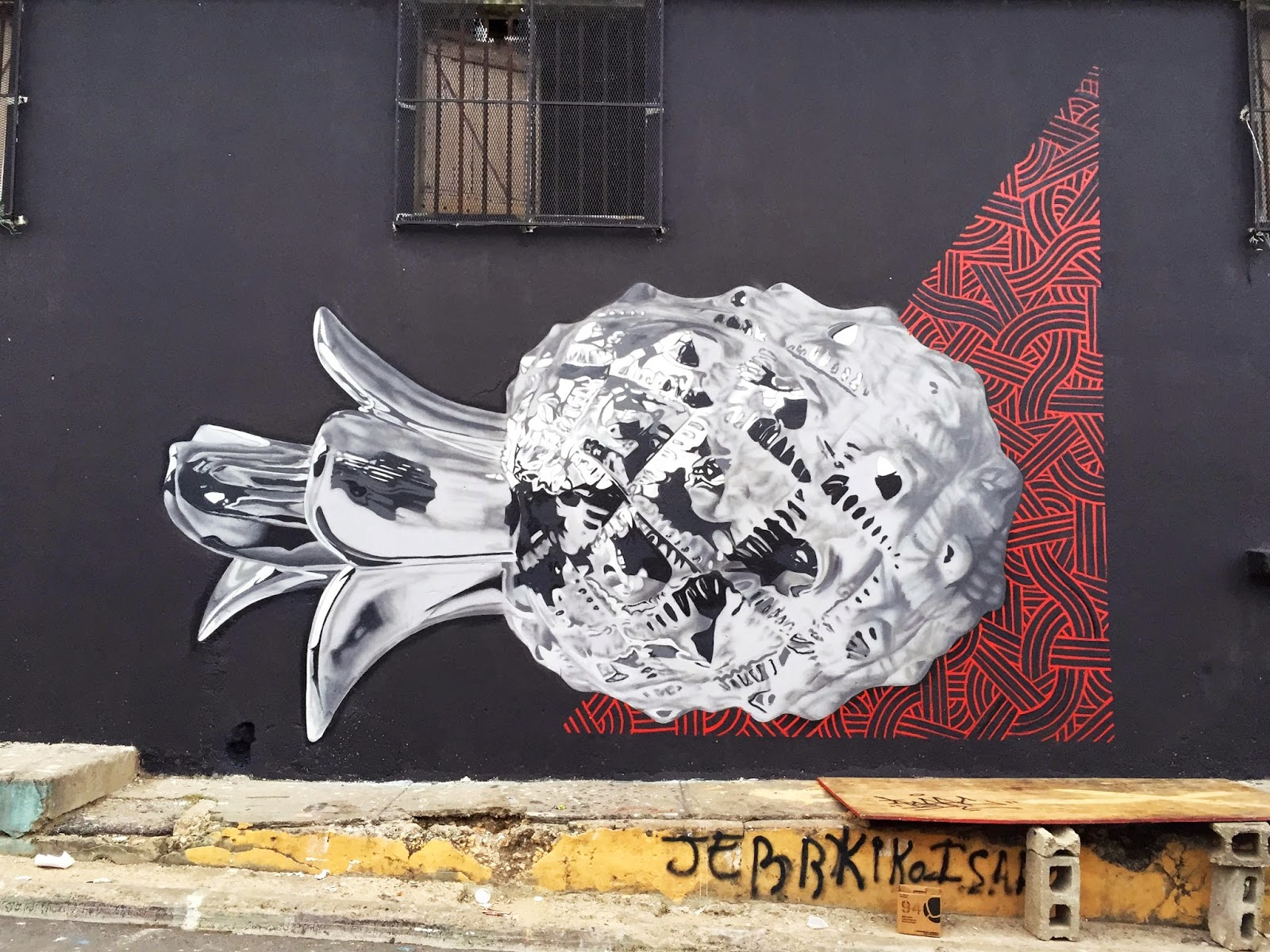 """The """"Hoy Santa Barbara"""" Street Art Festival is kicking off with a bang in Dominican Republic with an epic new piece from the one and only Bikismo."""
