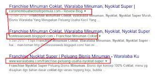 search google dengan saah satu keyword