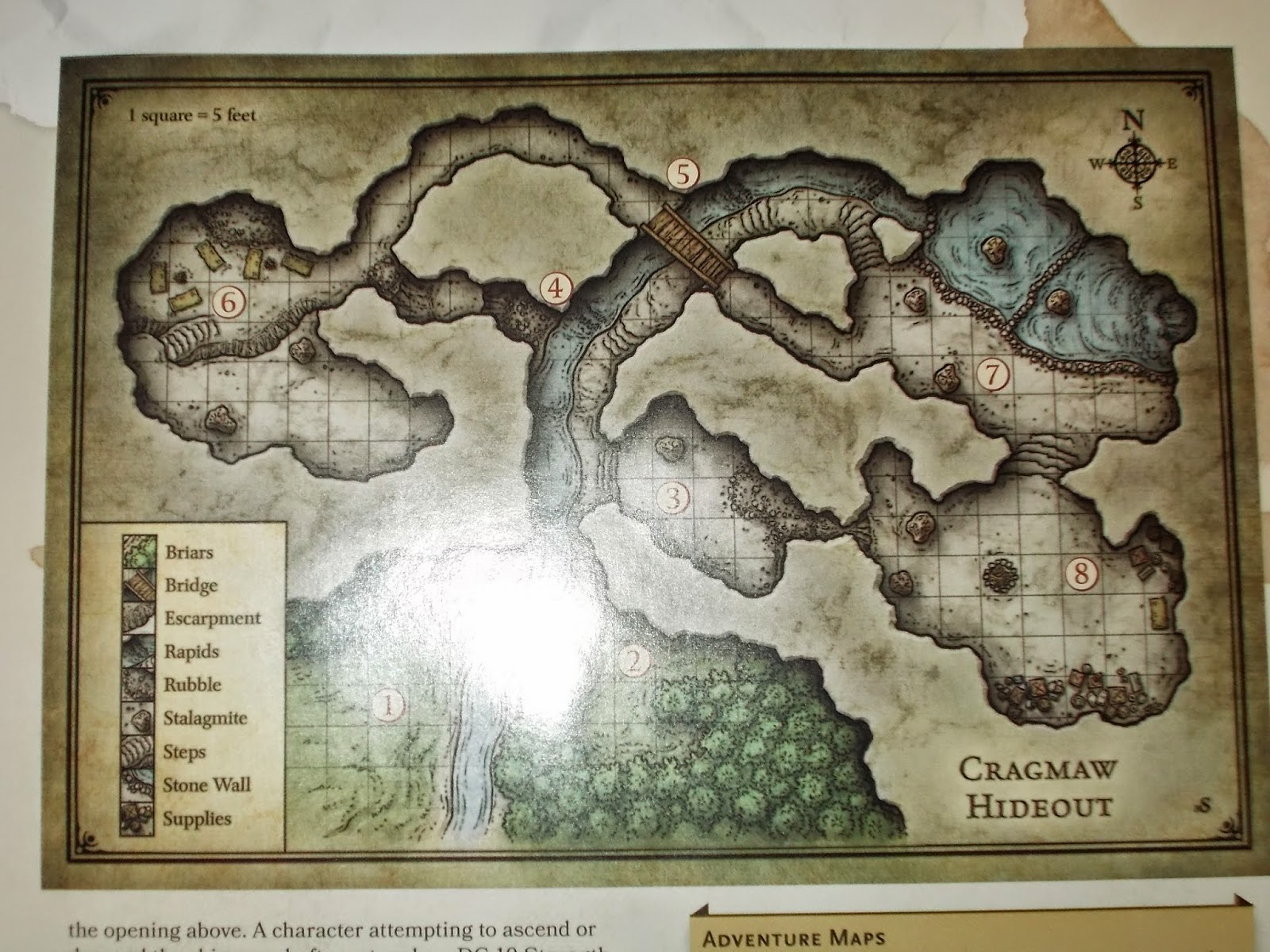 graphic regarding Cragmaw Hideout Printable Map known as The Ghost without the need of a S: August 2014
