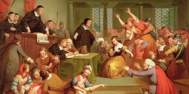 the similarities and differences between the movie the crucible and salem witch trials