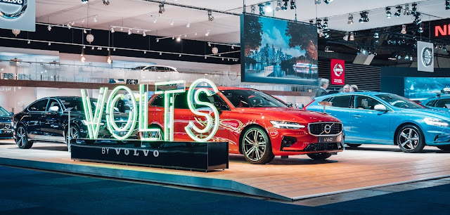 FamousGrey & Volvo Cars Belgium Presents the Next Step in Electrified Driving