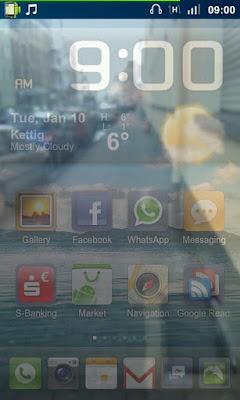 Aplicativo para deixar a tela transparente e ver o que esta do outro lado do seu Android 4