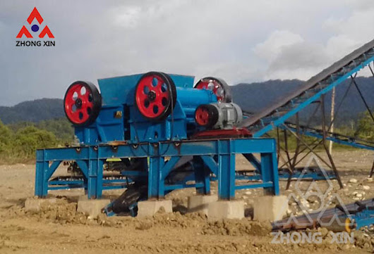 zhongxin jaw crusher in Nabire,Papua,Indonesia