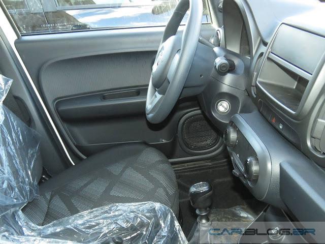 Fiat Mobi Easy - interior